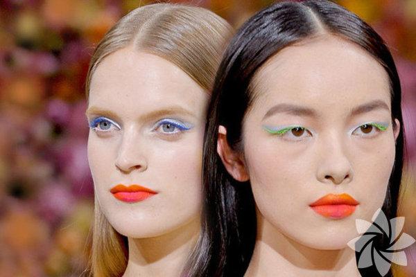 2014 modası renkli rimeller