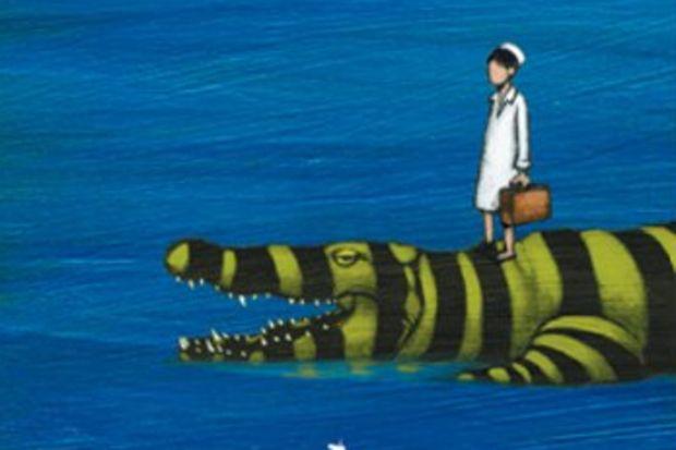 Denizde Timsahlar Var