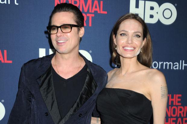Pudralı Angelina Jolie