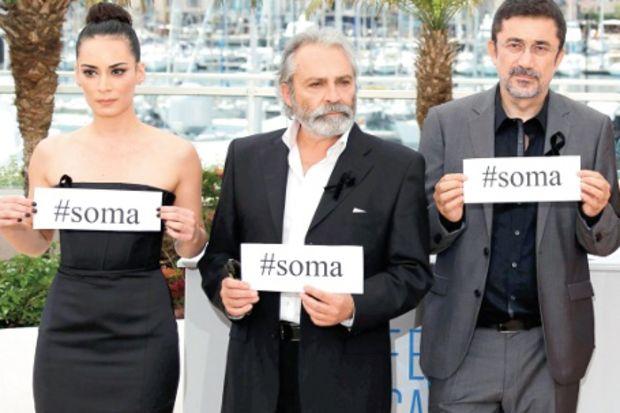 Soma acısı Cannes'da!