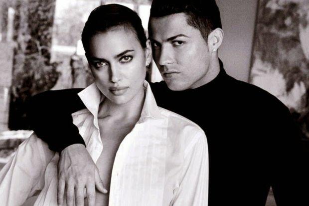 Ronaldo ve Irina'dan özel poz