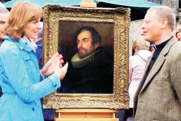 Antikacıdan aldığı tablo orjinal çıktı