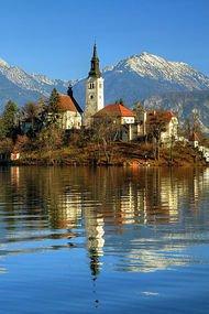 Muhteşem doğası ile Slovenya...