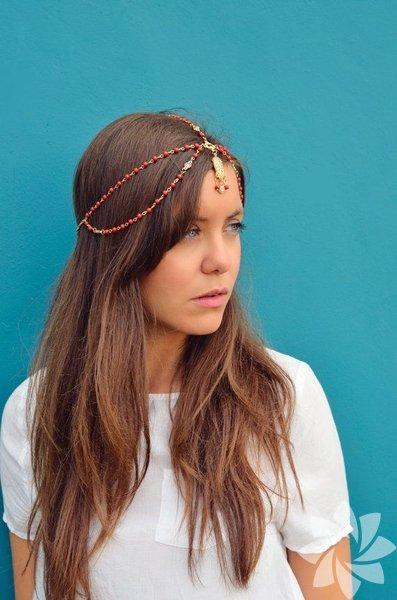Kızılderili saçı modası