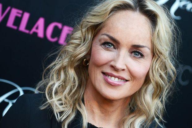 Sharon Stone makyajsız yakalandı