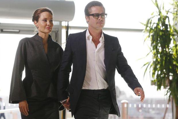 Brad ve Angelina'dan romantik yemek