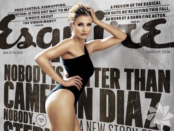 """42 yaşındaki Cameron Diaz, Hollywood'daki ikinci baharını kutluyor. Diaz  olay yaratan yeni filmi 'Sex Tape'teki çıplak sahneleri için """"Zamanı  gelmişti"""" dedi."""