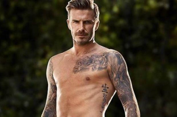 Beckham gençlik iksirini buldu
