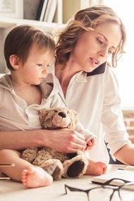 Küçük çocuklarla evde çalışmanın 5 yolu