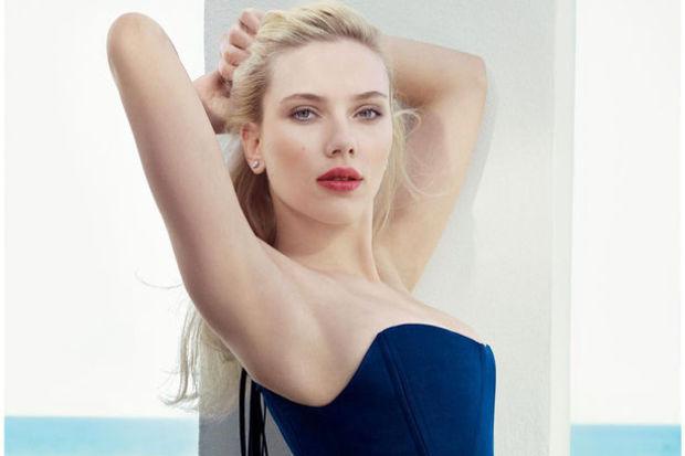 Scarlett Johansson'ın hamile imajı