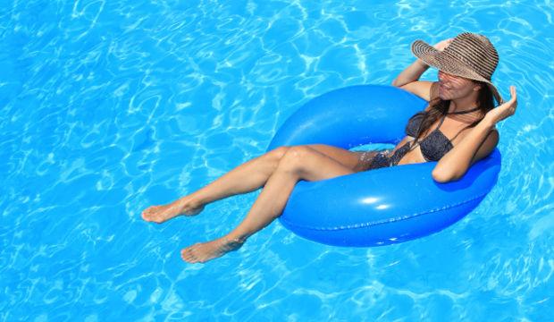 Havuz sistiti tatil keyfinizi bozmasın