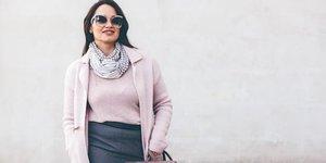 Göbekli kadınlar için giyinme tüyoları