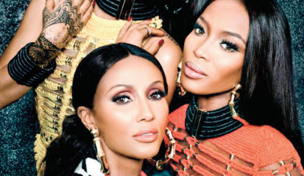 Rihanna, Naomi ve İman aynı karede