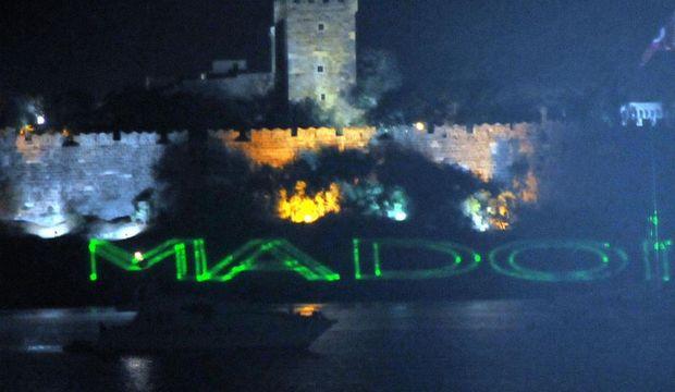 Bodrum Kalesi'nden Madonna'ya selam