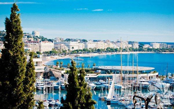 Cannes, Fransa'nın güneyinde yer alıyor.