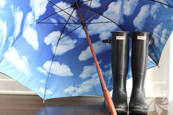 Yağmurlu havalar için şemsiye tasarımları