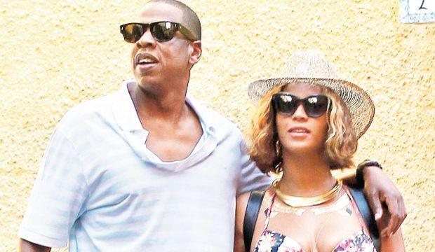 Beyonce'den mutlu aile tablosu