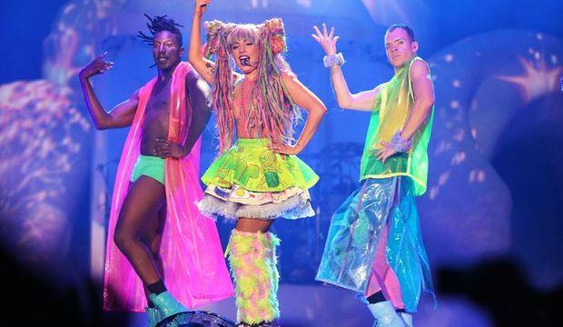 İstanbul'dan Lady Gaga geçti