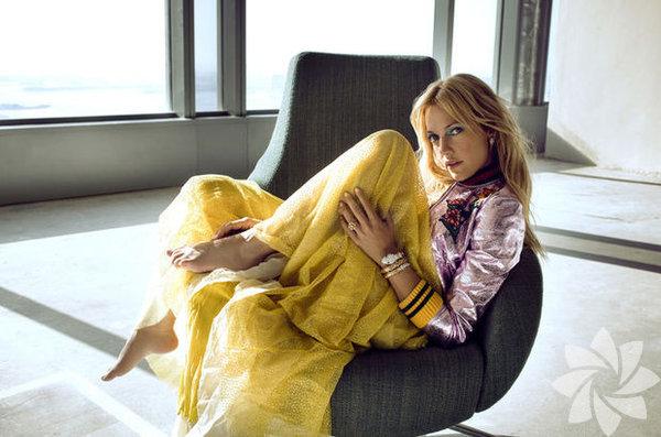Meryem Uzerli, Marie Claire dergisine kapak olmak için Dubai'de objektif karşısına geçti.