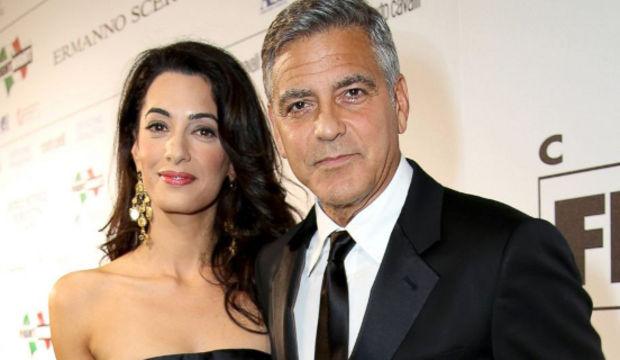 Clooney'den nikah jesti...