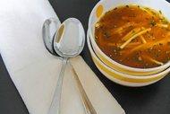 Naneli makarna çorbası