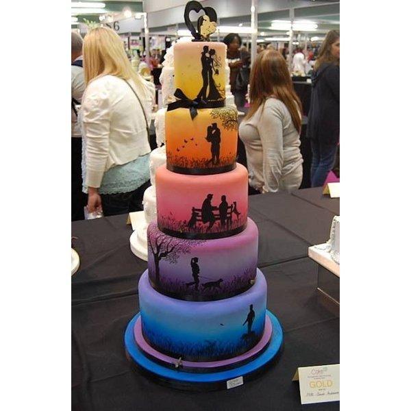 En ilginç düğün pastaları...