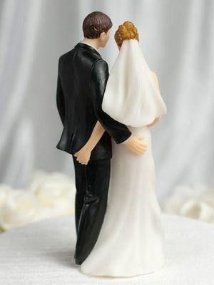 En tuhaf düğün pastaları...