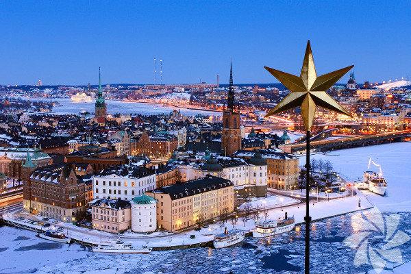 İsveç'in başkenti ve en büyük şehri.