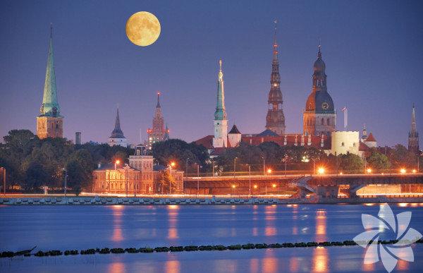 Letonya, Kuzey Avrupa'da yer alır.