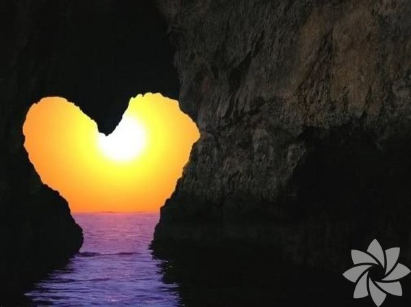 Doğanın en romantik halleri...
