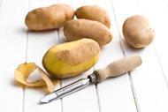 Patates kabuğunu çöpe atmayın!