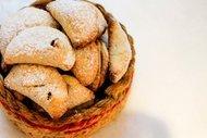 Elmalı ve kişnişli kurabiye