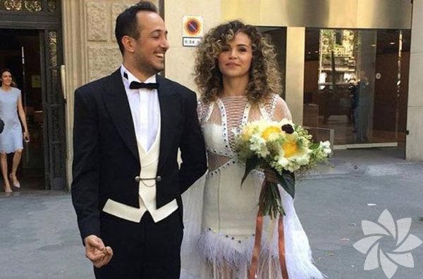Ünlü oyuncu Sarp Apak ile Bengisu Uzunöz çifti, önceki gündünyaevine girdi.