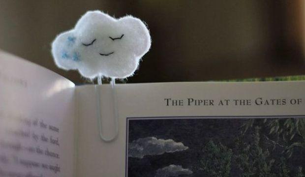 Kendi kitap ayracını kendin yap!