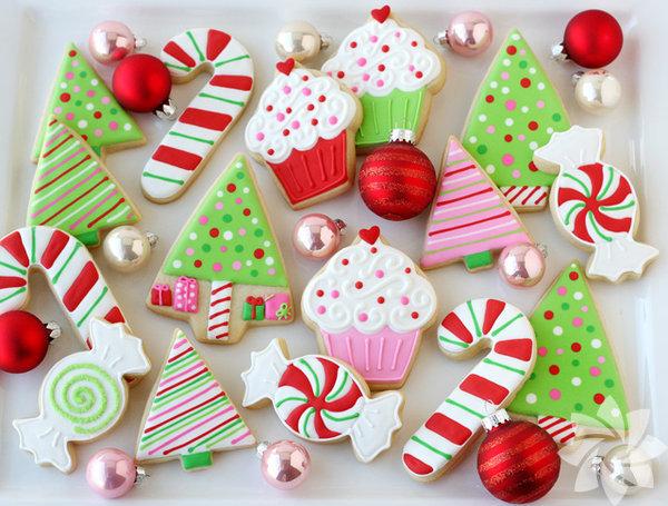Yılbaşı kurabiyeleri  Video için tıklayın!