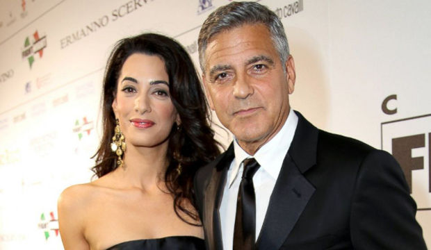 George Clooney baba oluyor