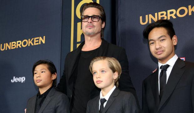 Brad Pitt ve oğulları