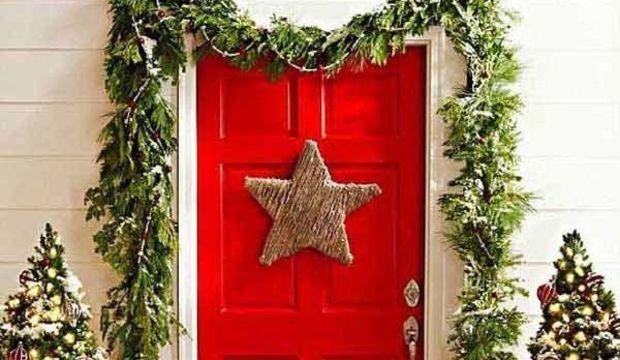 Kapı süsünüzü kendiniz yapın!