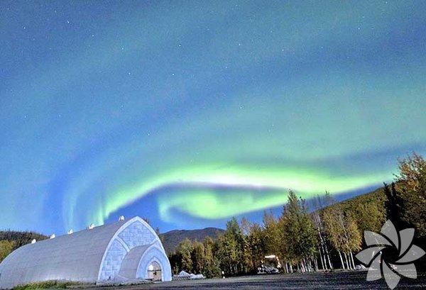 Aurora Buz Müzesi - Alaska, Amerika