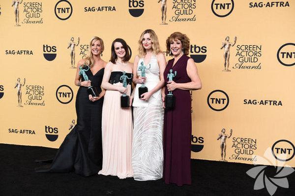 SAG Ödül Töreni'nde ödül alan isimler şöyle:  Sinema En İyi Oyuncu Kadrosu Birdman En İyi Erkek Oyuncu Eddie Redmayne (The Theory of Everything) En İyi Kadın Oyuncu Julianne Moore (Still Alice) En İyi Yardımcı Erkek Oyuncu J.K. Simmons (Whiplash) En İyi Yardımcı Kadın Oyuncu Patricia Arquette (Boyhood)  Televizyon En İyi Oyuncu Kadrosu (Drama) Downton Abbey En İyi Oyuncu Kadrosu (Komedi) Orange is the New Black En İyi Erkek Oyuncu Kevin Spacey (House of Cards) En İyi Kadın  Oyuncu Viola Davis (How to Get Away With Murder) En İyi Erkek Oyuncu (Komedi) William H. Macy (Shameless) En İyi Kadın Oyuncu (Komedi) Uzo Aduba (Orange is the New Black)