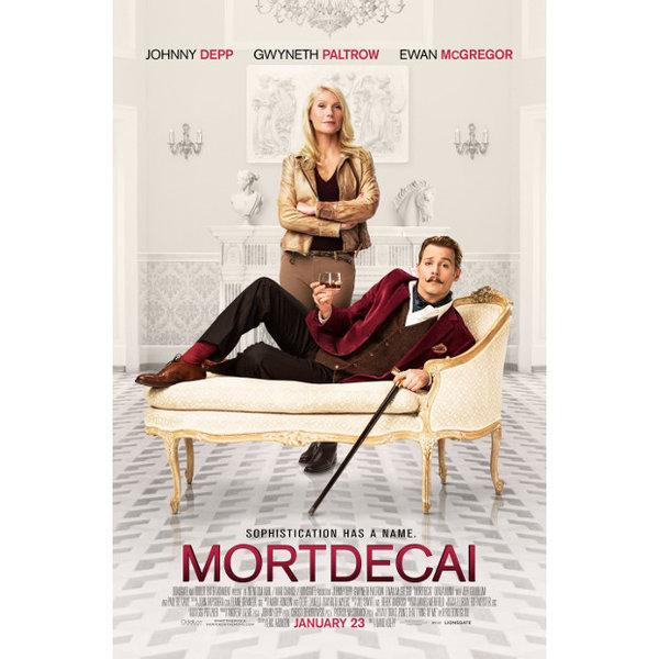 Üç Kağıtçı Mortdecai (Mortdecai) Aksiyon – Komedi  Kyril Bonfiglioli'nin romanından uyarlanan filmde, sanat eseri satıcı olan Charlie Mortdecai'ın bir Goya tablosunun peşinde yaşadığı maceralar anlatılıyor. Keyfine düşkün, kurnaz ve şahsına münhasır karakter Charlie Mortdecai rolünde Johnny Depp'i izleyeceğiz. Yönetmenliğini David Koepp'in yaptığı komedi filminde Depp'e Ewan McGregor, Gwyneth Paltrow, Paul Bettany gibi Hollywood yıldızları eşlik ediyor.