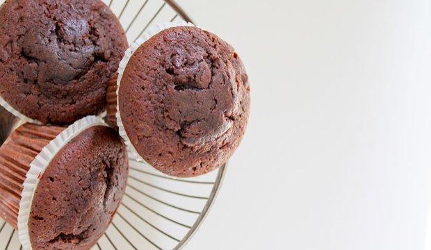 Çikolatalı ve kahveli muffin