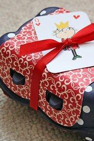Yılbaşı hediyeleri için el yapımı hediye paketleri