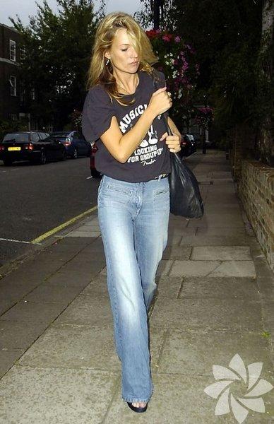 Kate Moss Sokak Stili...