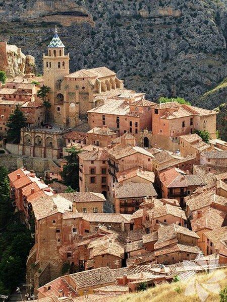 Albarracin Aragon - İspanya