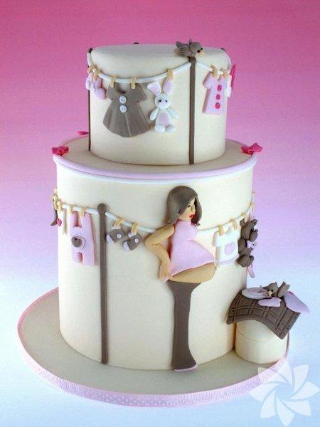 Baby Shower partilerinin en ilginç pastaları... Baby Shower pastaları
