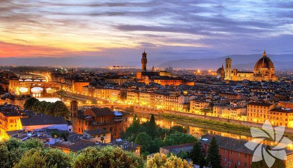 Kuzey İtalya'daki Toskana bölgesinin başkenti...