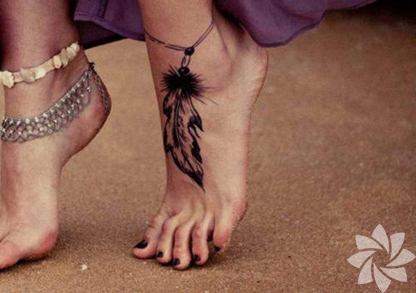 Ayak dövmeleri