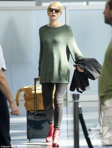 Cate Blanchett'in sokak halleri... Cate Blanchett sokak stili
