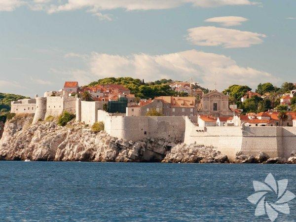 Antik Kent Surları, Dubrovnik, Hırvatistan
